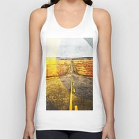 road Tank Tops featuring Road by emegi