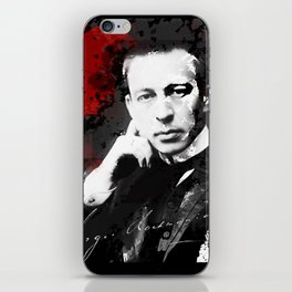 Sergei Rachmaninoff - Russian Pianist, Composer, Conductor iPhone Skin