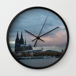 Cologne 3 Wall Clock