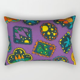 Night Dreams 2 by Nettwork2Design Nettie Heron-Middleton Rectangular Pillow
