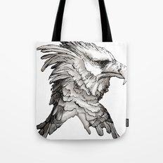 Hawk profile  Tote Bag