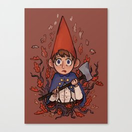 Over the Garden Wall Print: Wirt Canvas Print