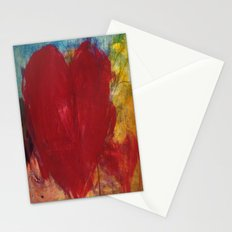 Blood Red Love Stationery Cards