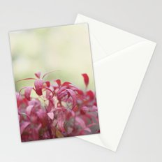 Love Autumn Colors Stationery Cards