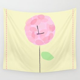 Flower L Wall Tapestry