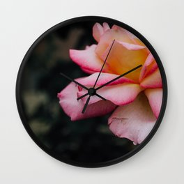 P I N K Fade. Wall Clock
