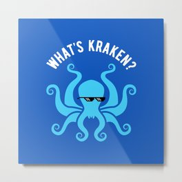 What's Kraken? Metal Print