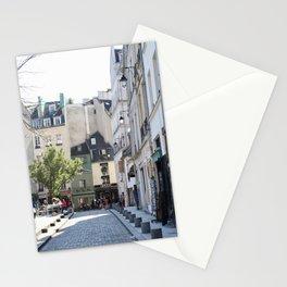 Paris City Streets Stationery Cards