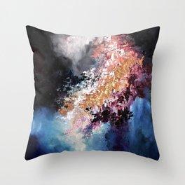 NightFlare Throw Pillow