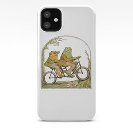 Frog and Toad - the bicycle iPhone Case