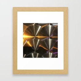 Moon Glow From Jupiter: Calistto's Reflection Framed Art Print