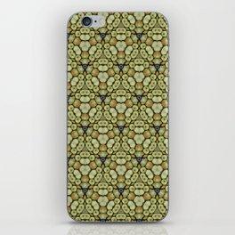 Yellow Apples Pattern iPhone Skin