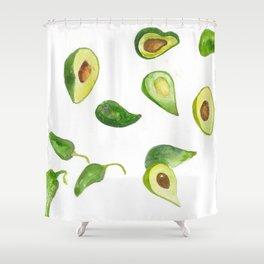 Olé Guacomole Shower Curtain