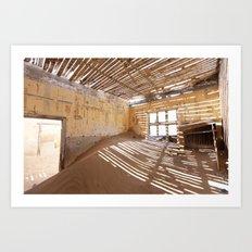Kolmanskop Ghost Town Art Print