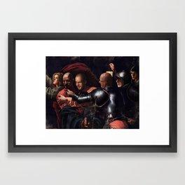 The Taking Of Walter White Framed Art Print