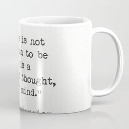 Daphne du Maurier quote Coffee Mug