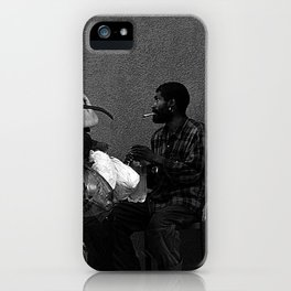 Living in the city iPhone Case