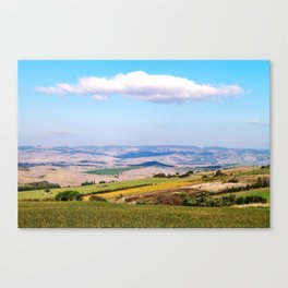Val D'Orcia Canvas Print