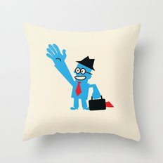 FROM ANOTHER PLANET Throw Pillow