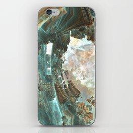 Aqua Space Shipyard iPhone Skin