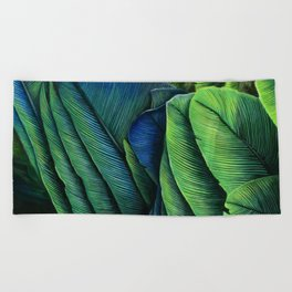 Feather Study Beach Towel