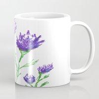 clover Mugs featuring Clover by Brazen Edwards