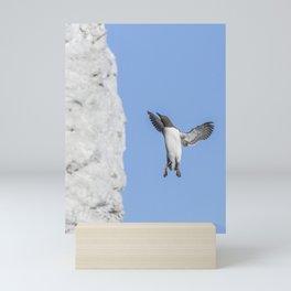 Guillemot Landing Mini Art Print