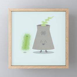 We React Together Framed Mini Art Print