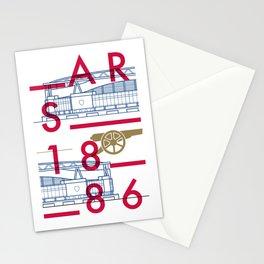Emirates - Arsenal - Typoline Stadiums Stationery Cards