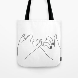 Pinky Promise 3 Tote Bag