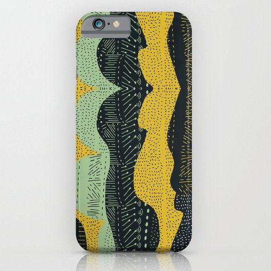 Tribal Minty iPhone & iPod Case
