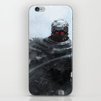 winter soldier iPhone & iPod Skins featuring Winter soldier by Kirkrew