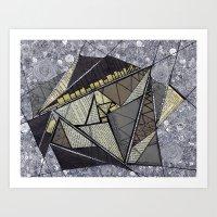 fibonacci Art Prints featuring fibonacci by ephemerality