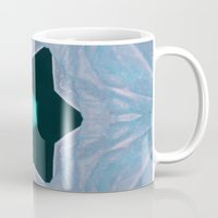 frozen Mugs featuring Frozen by Deborah Janke