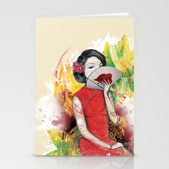 Pretty Ugly Stationery Cards