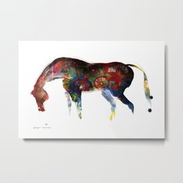 Painted Horse Metal Print