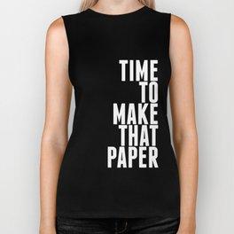 Make That Paper Biker Tank