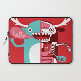 All monsters are the same! Laptop Sleeve