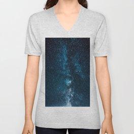 Brisk Milky Way Unisex V-Neck