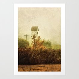 Ancient Transformer Tower  Art Print