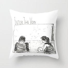 enter the void Throw Pillow