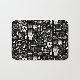 Curiosities: Bone Black Bath Mat