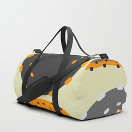 Abstract cells Duffle Bag