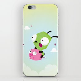 Invasor Zim iPhone Skin