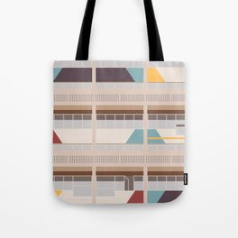 Cité Radieuse - Le Corbusier Tote Bag