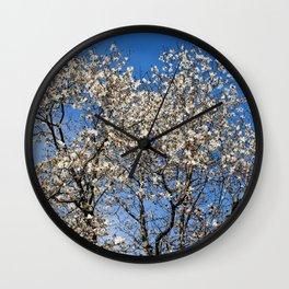 May flowering tree Wall Clock