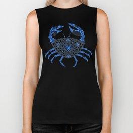 Blue Crab Biker Tank