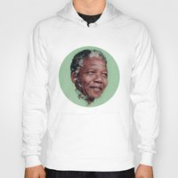 mandela Hoodies featuring Nelson Mandela by LightCircle