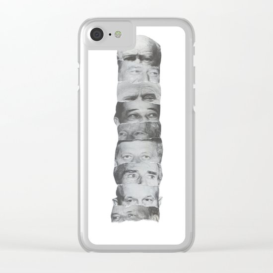 Totem Poll Clear iPhone Case