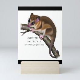 Opossum Mini Art Print